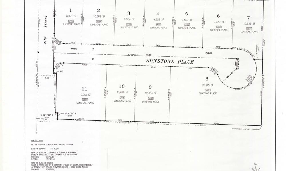 Sunstone Place Plat 07.30.19 Page 2